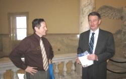 With Idaho Lt Gov Brad Little