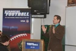 Visa's Financial Football Kickoff